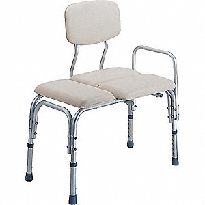 ADA ADJUSTABLE BENCH WITH BACKREST