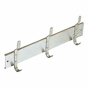 UTILITY HOOK STRIP,26 X 9 1/8 IN,SS