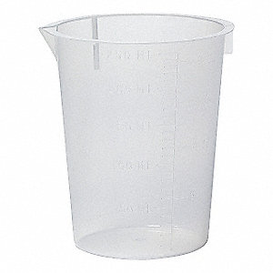 DISPOSABLE BEAKERS, 250ML,PK50