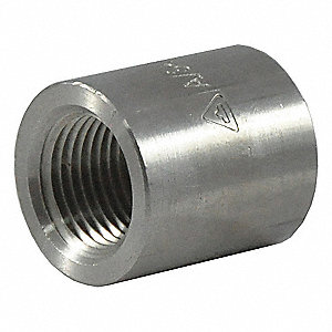 CAP,1/2 IN,316 STAINLESS STEEL