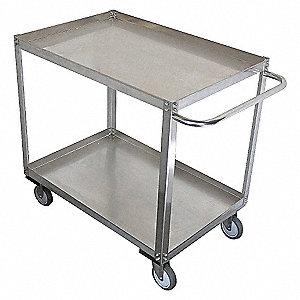 Unassembled Utility Cart,SS,29 L,1200 lb