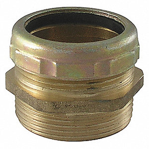WASTE CONNECTOR,BRASS,1 1/2 IN