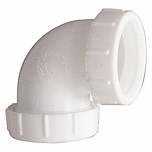 ELBOW,90 DEG,1 1/2 OR 1 1/4 IN,POLY