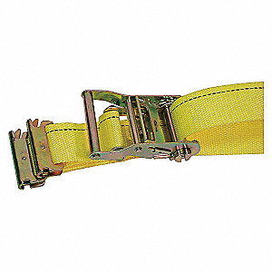 LOGISTIC RATCHET STRAP,12FT X 2IN,P
