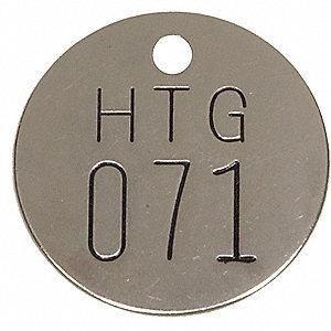 NBR TAG,1-1/2 X 1-1/2 IN,51-75,PK25