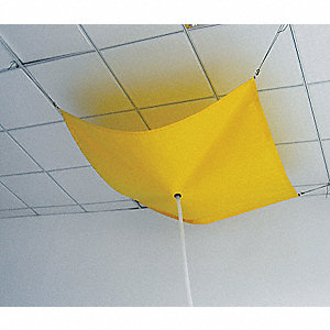 ROOF LEAK DIVERTER,7 X 7 FT,PVC