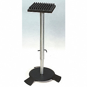 BOX SUPPORT STAND,BLACK,METAL,14IN.