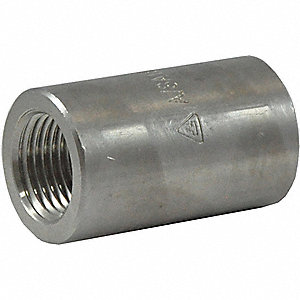 COUPLING,1 IN,316 STAINLESS STEEL