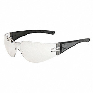 Luminator Scratch-Resistant Safety Glasses, Clear Lens Color