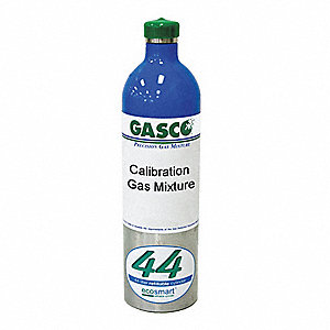 Carbon Monoxide, Air Calibration Gas, 44L Cylinder Capacity