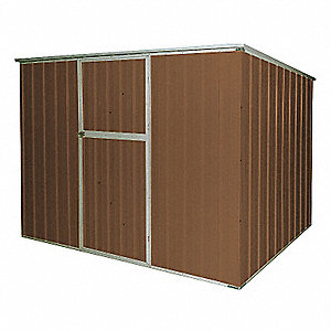 STORAGE SHED,SLOPE ROOF,6FT X 8FT,B