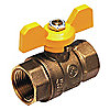 BALL VALVE,2 PC,3/4 IN FNPT,FORGED
