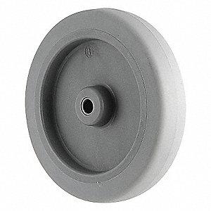 CASTER WHEEL,3 D X 1 IN. W,125 LB.