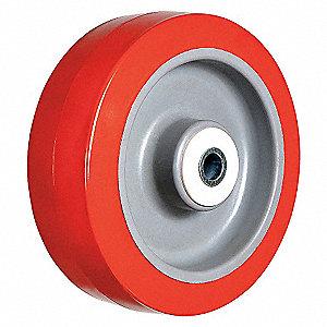 CASTER WHEEL,4 D X 2 IN. W,600 LB.