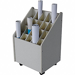 MOBILE ROLL FILE,20 COMPARTMENTS
