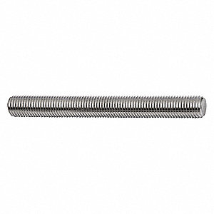 THREADED ROD,316 SS,3 FT X 3/-16