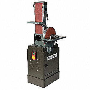 Floor Disc Sander/Cabinet,10 In