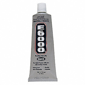 3.7 oz. Industrial Adhesive, 24 to 72 hr. Curing Time, 1 EA