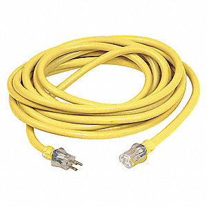 EXTENSION CORD,SINGLE CONNECTOR,100
