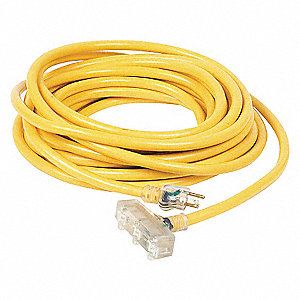 EXTENSION CORD,TRI-SOURCE,50FT,10/3
