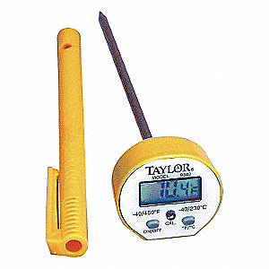 DIGITAL POCKET THERMOMETER,LCD,5 IN
