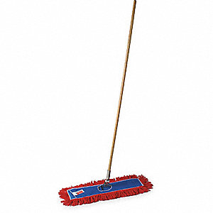 DUST MOP KIT,COTTON,24 IN.,LAUNDERA
