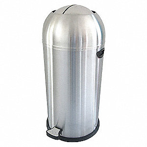 STEP ON CONTAINER,SS, 10 GAL