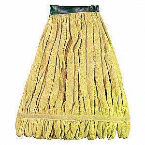 LOOP END FINISH MOP,LARGE,YELLOW