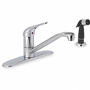 KITCHEN FAUCET,ONE HANDLE,CHROME