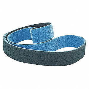 SANDING BELT,2 IN WX48 IN L,ZA,100G