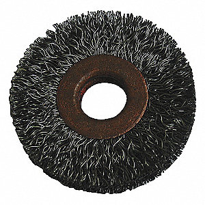 WIRE WHEEL,3 IN D,SS,0.0140 WIRE