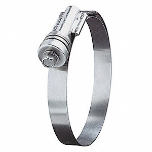 Hose Clamp,7-3/4 to 8-5/8In,SAE 862,PK10