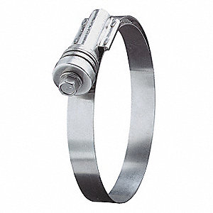 Hose Clamp,4-3/4 to 5-5/8In,SAE 562,PK10