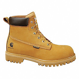 Wheat Boots, Size 9, Toe Type: Steel, PR