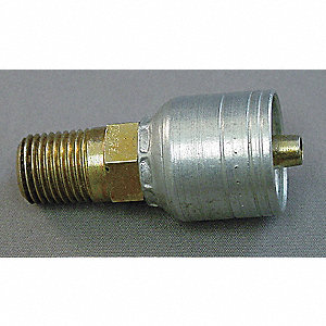 Hose Fitting,BSPP,Straight,R 1-1/4 In-11