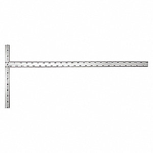 DRYWALL T SQUARE,ALUM,48 IN,1/8 IN