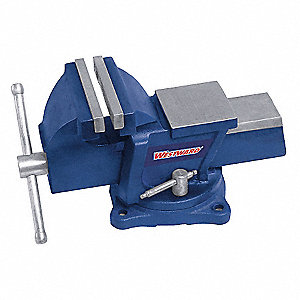 BENCH VISE,UTILITY WORKSHOP,SWIVEL,