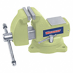 BENCH VISE,HIGH-VIS COMBO,SWIVEL,6