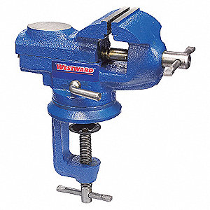 BENCH VISE,PORTABLE CLAMP,SWIVEL,2-