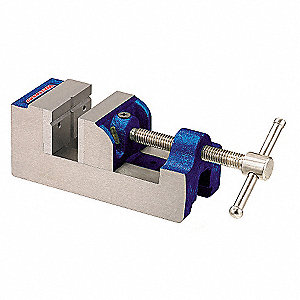 DRILL PRESS VISE,STATIONARY,4 IN