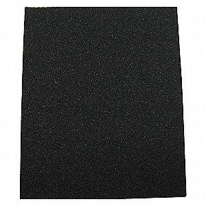 SANDING SHEET,11X4-1/2 IN,150 G,ALO