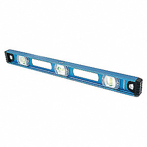 MAGNETIC I BEAM LEVEL,24 IN