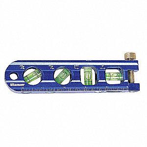 MAGNETIC TORPEDO LEVEL,6 1/4 IN,4 V