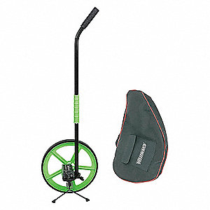 MEASURING WHEEL W/STAND,3 FT,WT 42.