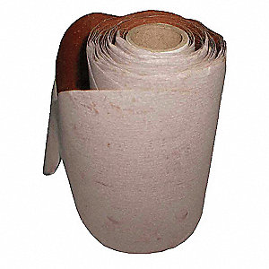 PSA SANDING DISC ROLL,6IN,AO,100 GR