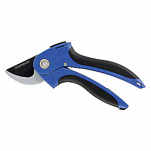 BYPASS PRUNER,2-1/4 IN.L,STEEL,5/8