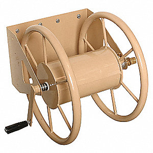 WALL MOUNT HOSE REEL,STEEL,15-1/2 I