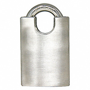 PADLOCK,HEAVY DUTY,SS,KEYED DIFFERE
