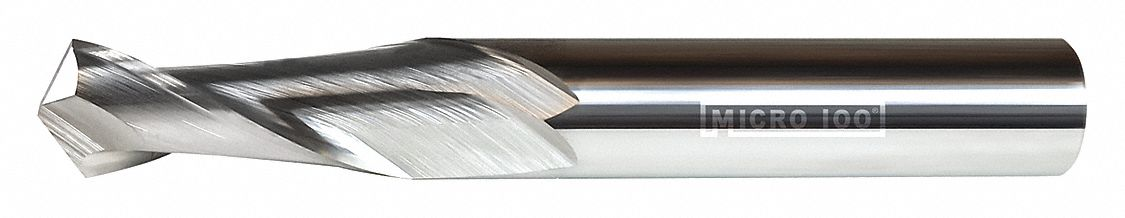 Number of Flutes: 2 5.00mm Milling Dia. Uncoated MMRM-050-30 5.00mm Length of Cut Micro 100 Corner Radius End Mill