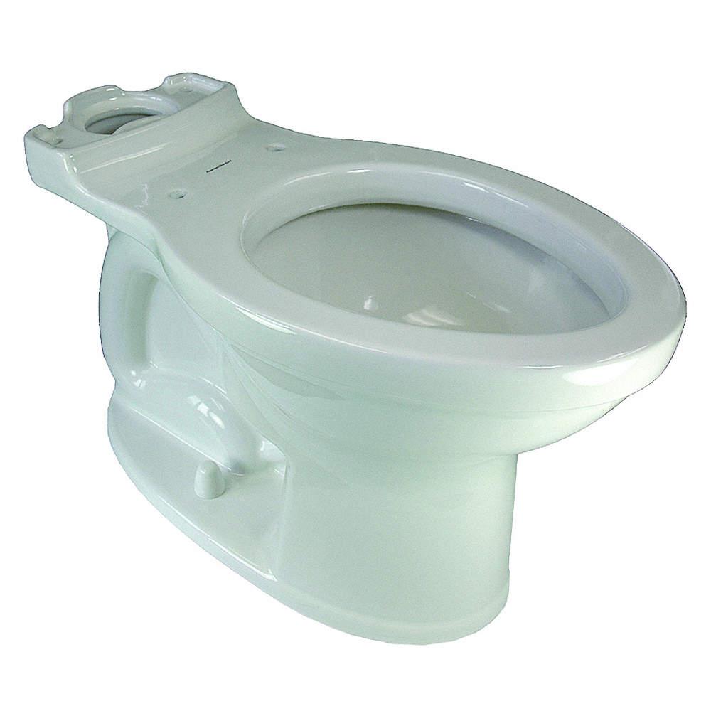 AMERICAN STANDARD Toilet Bowl, Floor Mounting Style, Elongated, 1.28 ...